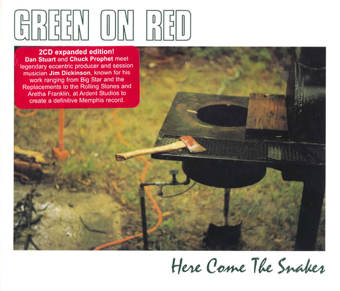 Green On Red Here Come The Snakes CD